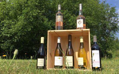 La liste des vins en dégustation ce 13 juin